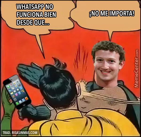 WhatsApp no funciona bien