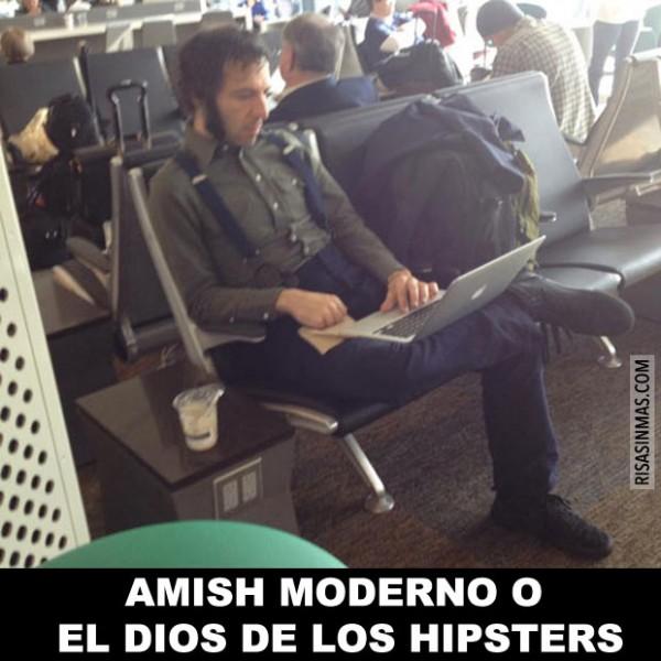 Amish moderno o el dios de los hipsters