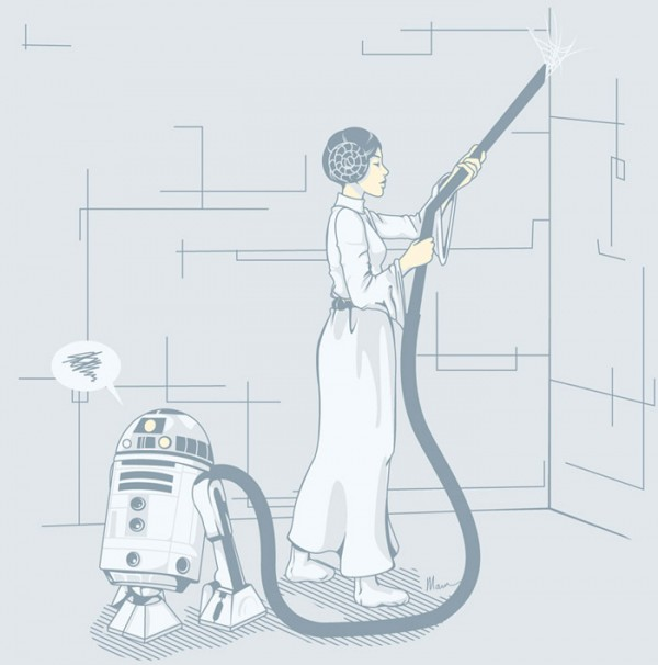 Aspiradora R2-D2