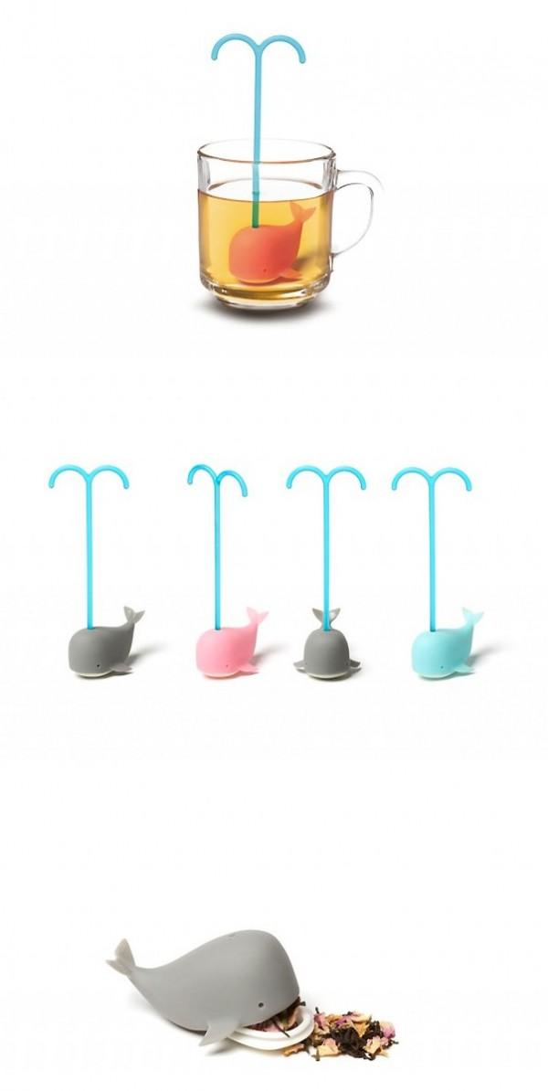 Ballena infusionadora de té