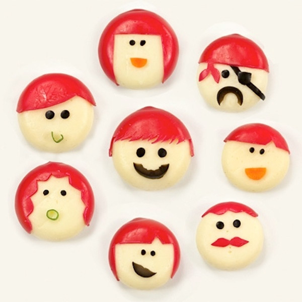 Caras divertidas con Mini Babybel