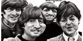 Caricatura The Beatles