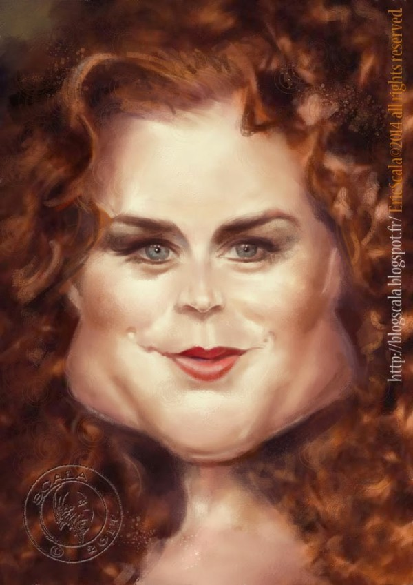 Caricatura de Amy Adams