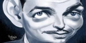 Caricatura de Clark Gable