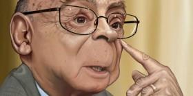 Caricatura de José Saramago