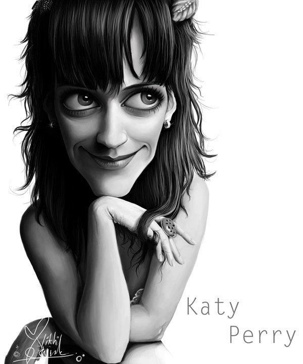 Caricatura de Katy Perry