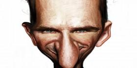 Caricatura de Ralph Fiennes