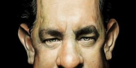 Caricatura de Tom Hanks