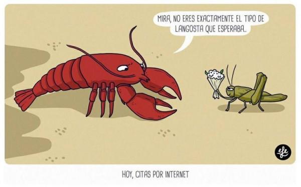 Cita a ciegas por internet