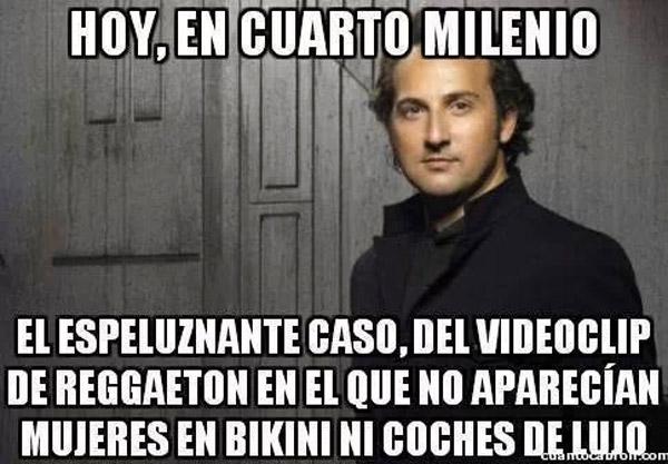 Cuarto Milenio: el videoclip de reggaeton