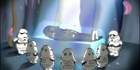 Darth Vader y los siete stormtroopers