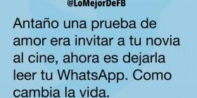 Dejarla leer tu WhatsApp