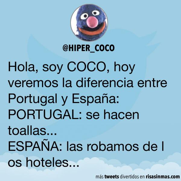 Diferencia entre Portugal y España