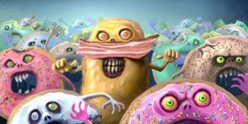 Donuts zombies