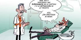 El 45% de los españoles no va al dentista...