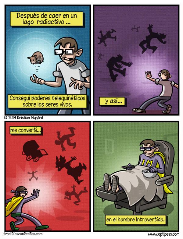 El hombre introvertido