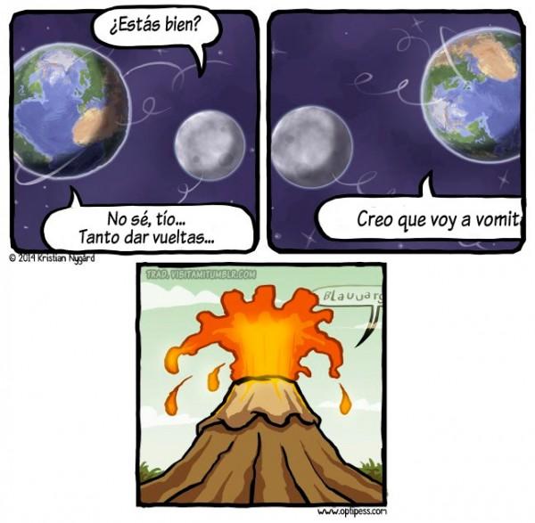 El origen de los volcanes