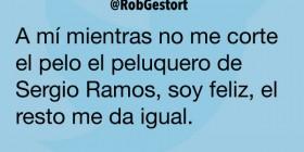 El peluquero de Sergio Ramos