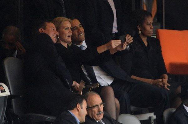 El selfie de Obama más famoso