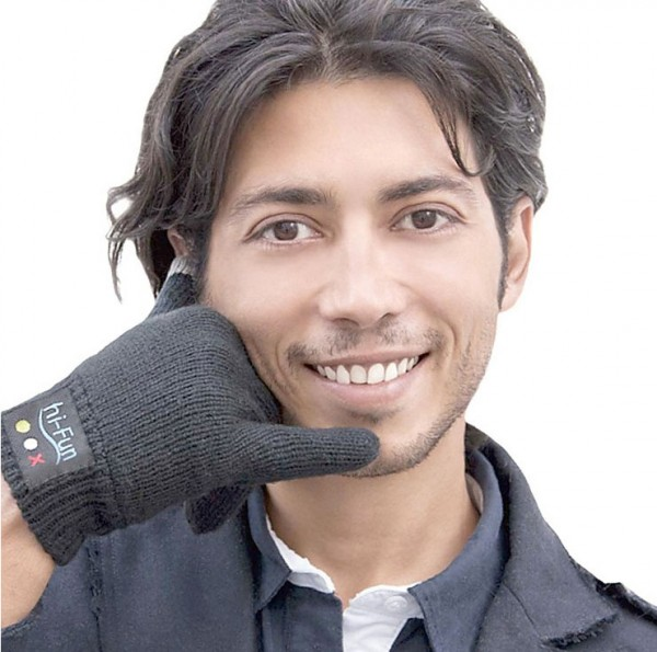 Guantes con Bluetooth