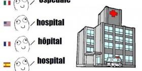 Hospital en diferentes idiomas