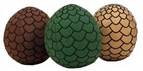 Huevos de dragón de peluche (Juego de Tronos)