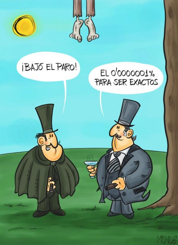 Humor negro: el paro en España
