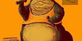 Jabba en el gimnasio