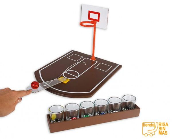 Juego de chupitos baloncesto