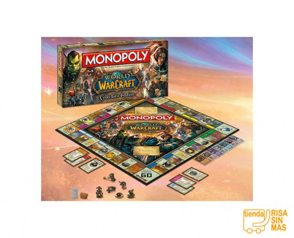 Juego de mesa Monopoly World of Warcraft