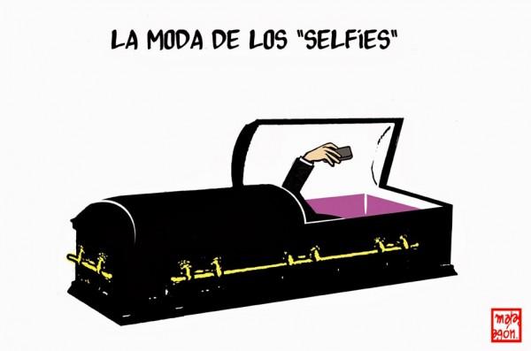 La moda de las selfies