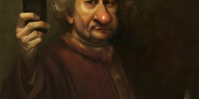 La selfie de Rembrandt
