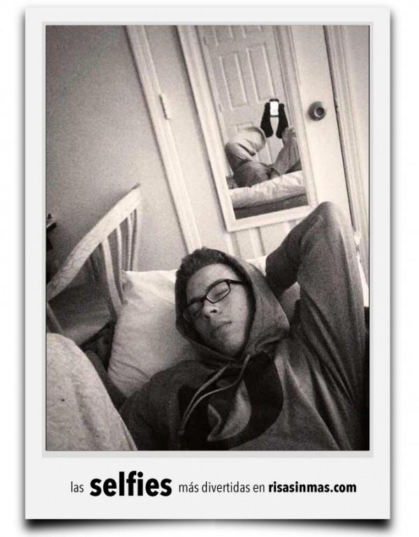 La selfie del malabarista