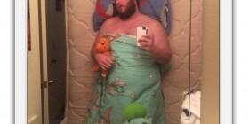 Las selfies más divertidas: Dormido