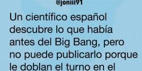 Lo que había antes del Big Bang