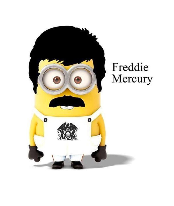 Minion Freddie Mercury