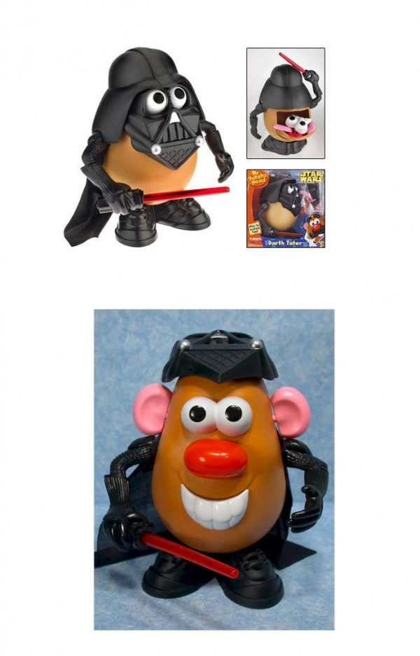 Mr. Potato de Darth Vader