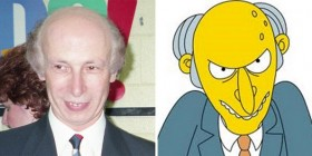 Parecidos razonables: señor Burns