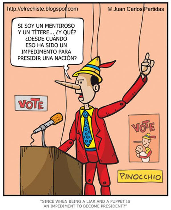 Pinocho presidente