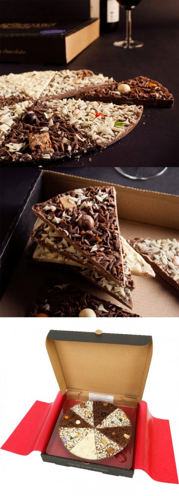 Pizza de chocolate, la pizza más dulce del mundo