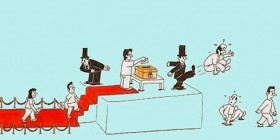Políticos y proceso electoral