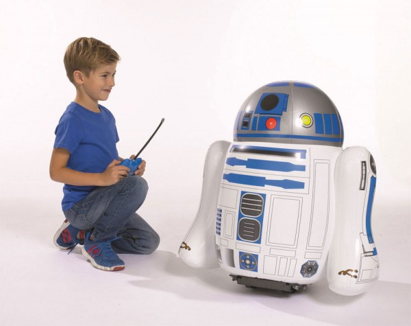 R2-D2 inflable con radiocontrol