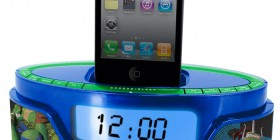 Radio reloj despertador y cargador de iPhone y iPod