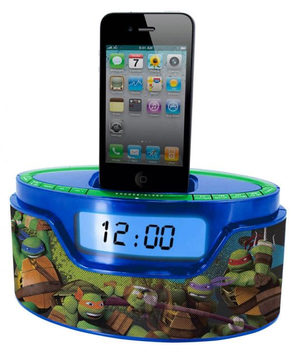 Radio reloj despertador y cargador de iPhone y iPod