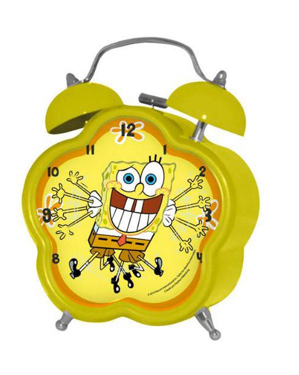 Reloj despertador Bob Esponja