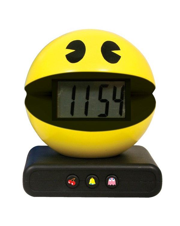 Reloj despertador Pac-Man