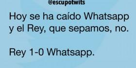 Rey 1-0 Whatsapp