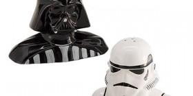 Salero y Pimentero Darth Vader y Stormtrooper