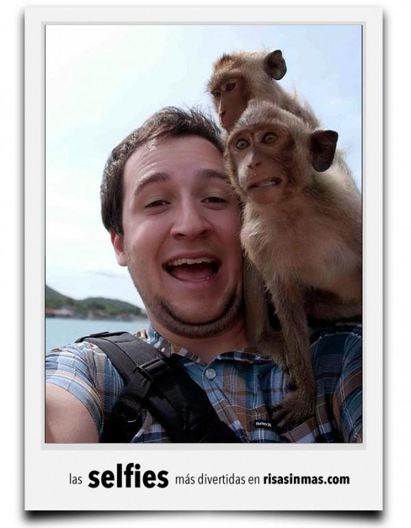 Selfie en grupo