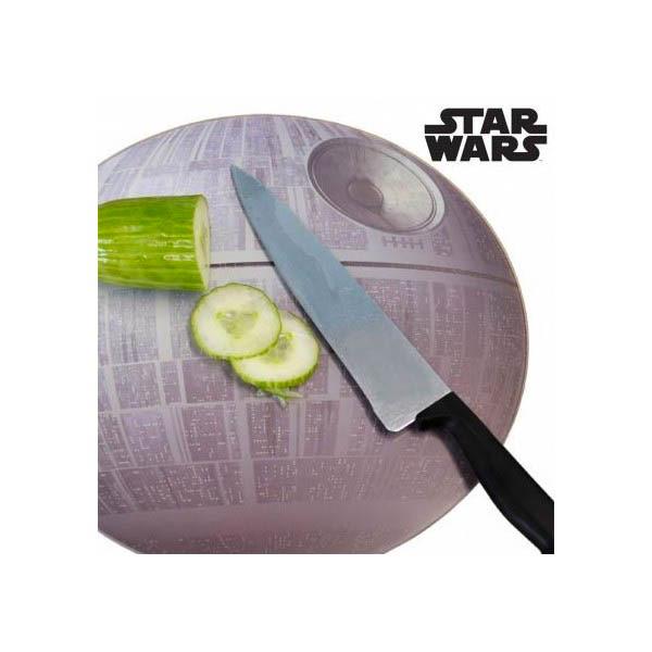 Tabla corte cocina Estrella de la Muerte. Star Wars